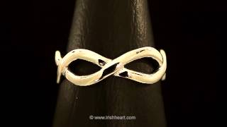 Mary Kate Infinity Wedding Ring from IrishHeart.com