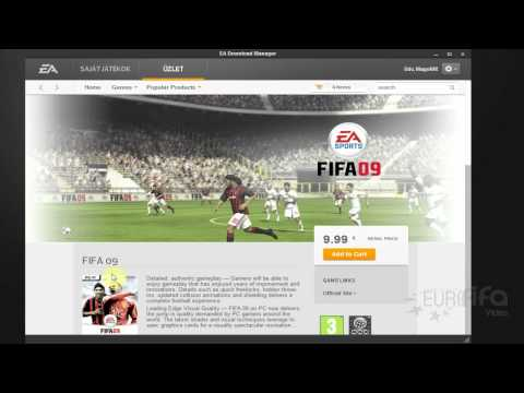 EA Download Manager Tutorial - Magyarul