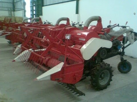 FUTATA Mesin Pemanen Padi, Cara Pengoperasian perontok padi, Menjalankan Pemotong Padi, Menggunakan