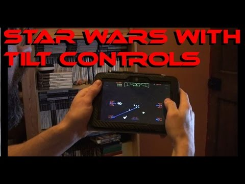 Atari's Star Wars Arcade With Tilt Controls on Android