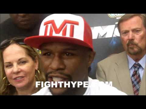 FLOYD MAYWEATHER EXPLAINS HOW HE LEARNED PATIENCE AND TIMING IS KEY TO BEING PPV STAR