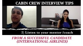 Cabin Crew Interview Tips