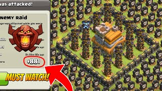 Clash Of Clans - Town Hall 7 (TH7) - Trophy Base - Air Sweeper 2015
