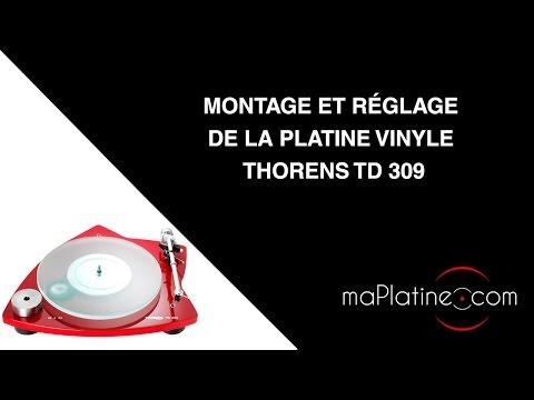 Platine vinyle vintage thorens td 165