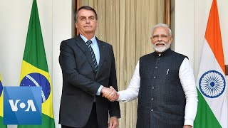 Brazil and India sSign Deals on Energy, Agriculture