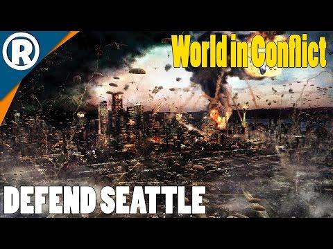 SEATTLE RETREAT - World in Conflict: Soviet Assault - Mission 2