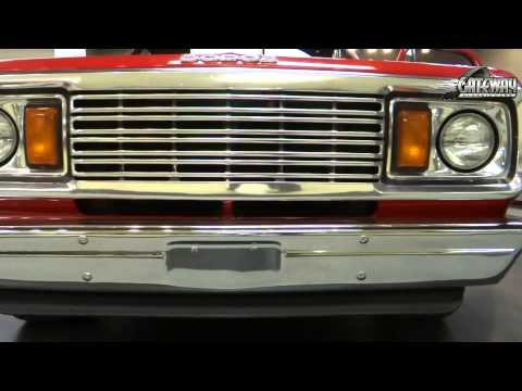 1978 Dodge Lil Red Express Truck #5850 For Sale at Gateway Classic Cars in St. Louis
