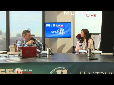 Hope Solo visits The McGraw Show