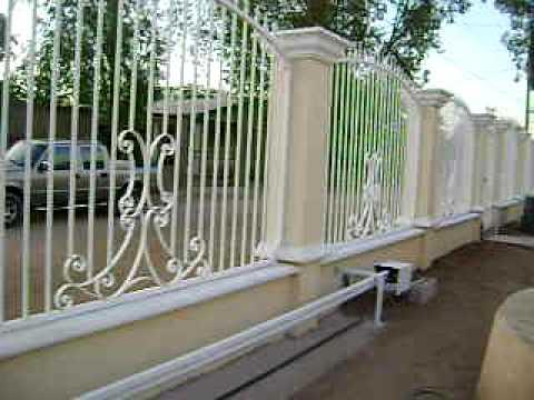Herreria y puertas automaticas en hermosillo sonora 662 - Puertas metalicas jardin ...