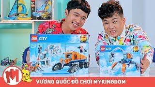 REVIEW LEGO CITY KHÁM PHÁ BẮC CỰC | 60192 MÁY THU THẬP BĂNG và 60194 XE BÁNH XÍCH