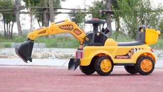 Đồ chơi trẻ em- máy xúc chạy điện bán sỉ lẻ tại Shop Kho Hàng Giá Rẻ VN