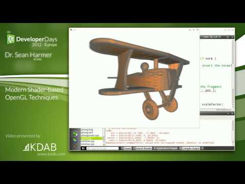 QtDD12 - Modern Shader-based OpenGL Techniques - Dr. Sean Harmer