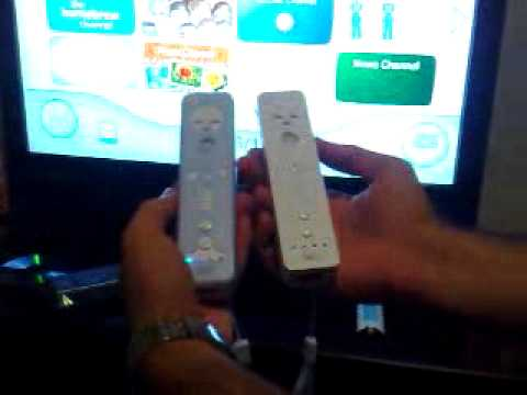 Wii remote problem - YouTube