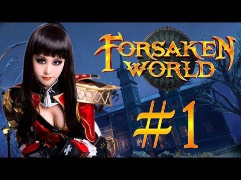 Пошалим в Forsaken World #1 - Поганки-каннибалы [Evgexa и Mobofilka]