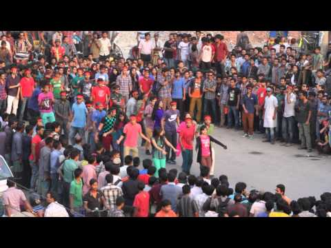 ICC T20 World Cup Flash Mob by BUFT