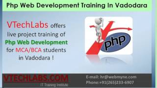 BCA, MCA Final Year Project Training In Vadodara (PHP, SEO, ASP.Net)