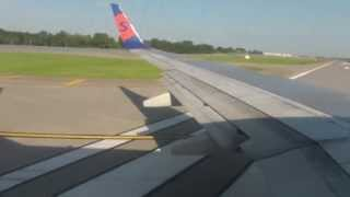 Onboard | Sun Country Airlines B737-73V | Takeoff RW30L | MSP Int