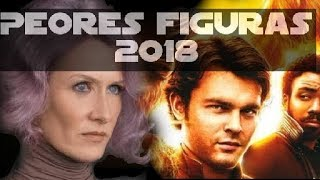 TOP 5 PEORES Figuras de STAR WARS para este 2018 | Star Wars