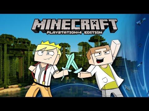 [GEJMR] Minecraft na PS4 – Ep 1 – Hledali se, až se našli