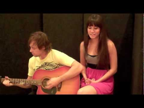 Gotye - Eyes Wide Open (Liz Allen Acoustic Cover featuring Brett Collins)