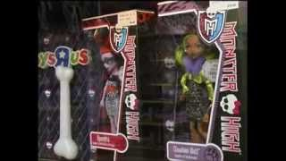 Exposición Monster High en ToysRus