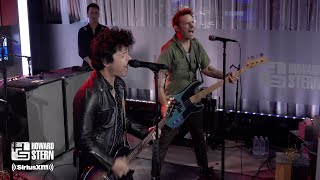 "Green Day ""American Idiot"" Live on the Howard Stern Show"