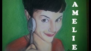 Dibujo a Amelie | Drawing Amelie