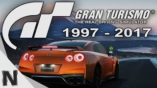 All Gran Turismo Game Trailers Evolution (1997-2017) Gran Turismo History PS1 PS2 PS3 PS4