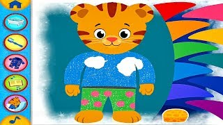 DANIEL TIGER's Day & Night App Full Gameplay | Daniel Tiger's Neighborhood Good Morning Good Night