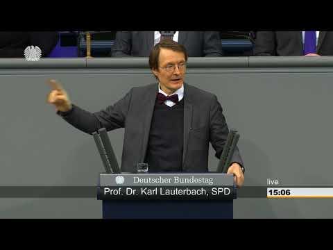 Karl Lauterbach (SPD) - Aussprache zu Gesundheit