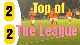 We Are Top of the League|Gillingham 2-2 Blackpool