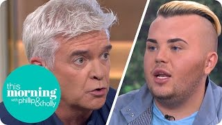 Phillip Grills Man Who Spent £20,000 On Surgery To Look Like David Beckham | This Morning