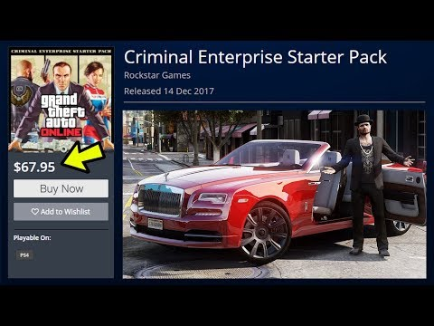 GTA 5 ONLINE NEW CRIMINAL ENTERPRISE STARTER PACK DLC! (GTA V)