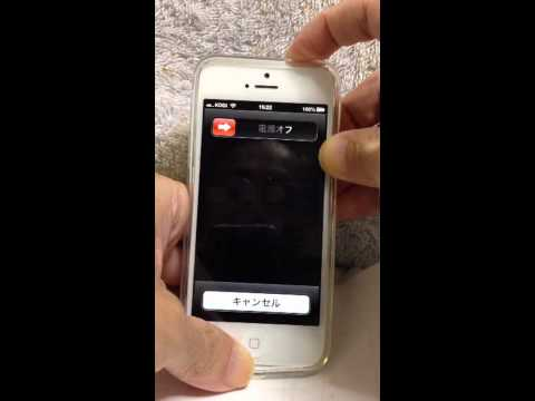 iPhone 5: Sleep/Wake Button