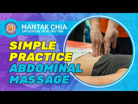 Mantak Chia Lecture in London 2017_Simple Practice Abdominal Massage