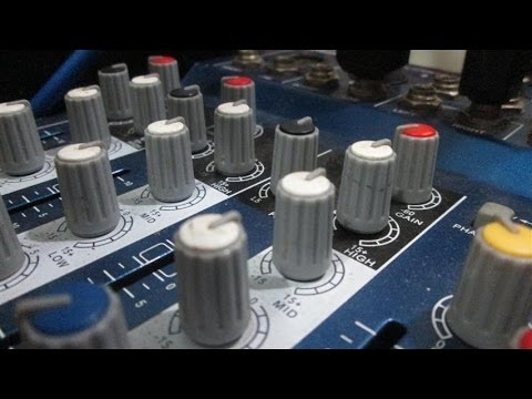 HOW TO's | Connecting your Analog Mixer to your Computer
