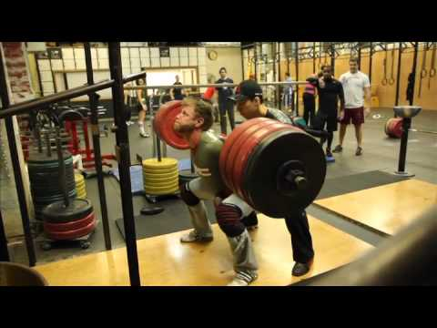 CrossFit - WOD 120112 Demo with Dave Lipson