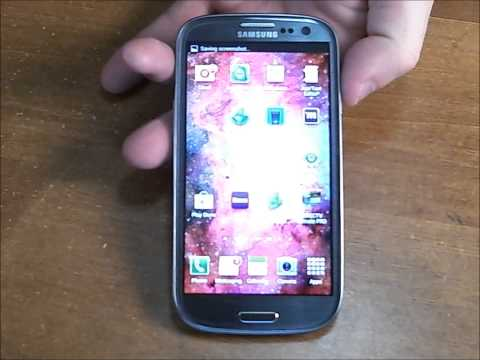 How to Take a Screenshot/Screen Capture on Your Samsung Galaxy S3