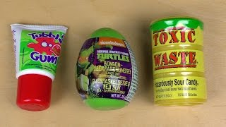 Whats worse: Toxic Waste or Tube Gum?