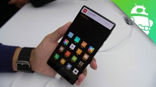 Xiaomi Mi MIX Hands On - the future of smartphones?