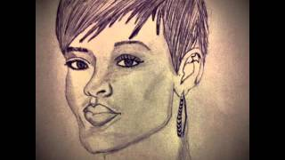 Rihanna Avril Lavigne Pitbull  Taylor Swift  pencil sketch & dark pencil