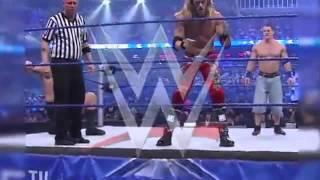 Smackdown Edge vs Jhon Cena vs Big Show