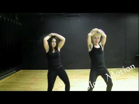 Tutorial - Madonna - Girl Gone Wild Choreography video