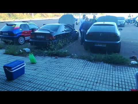 pique de coches en KDD puertollano-ciudad real.