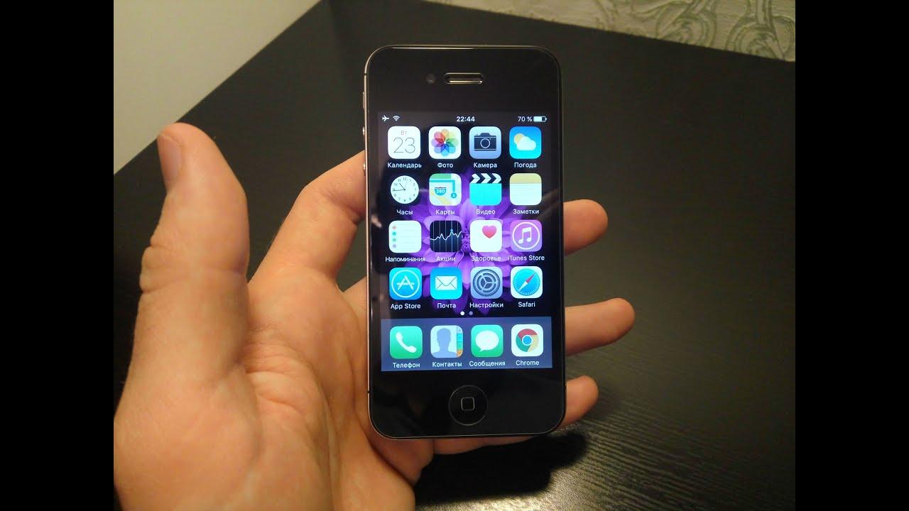 Смартфон iPhone 5s с iOS 11 работает медленнее, чем с iOS 19