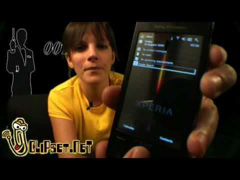 Videorama Sony Ericsson X1 Xperia