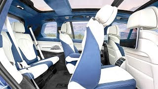 BMW X7 LIMO INTERIOR All Options Video BMW SUV INTERIOR Video New BMW Video CARJAM