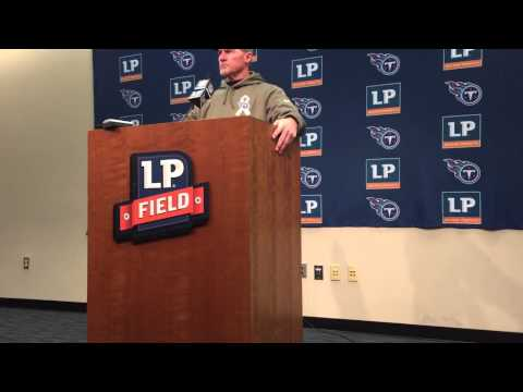 Tennessee Titans Head Coach Ken Whisenhunt Postgame Intervi