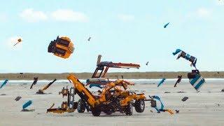LEGO RC Car Demolition Derby with REBRICKULOUS!