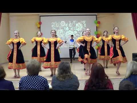 8 Б класс, танец Варенька